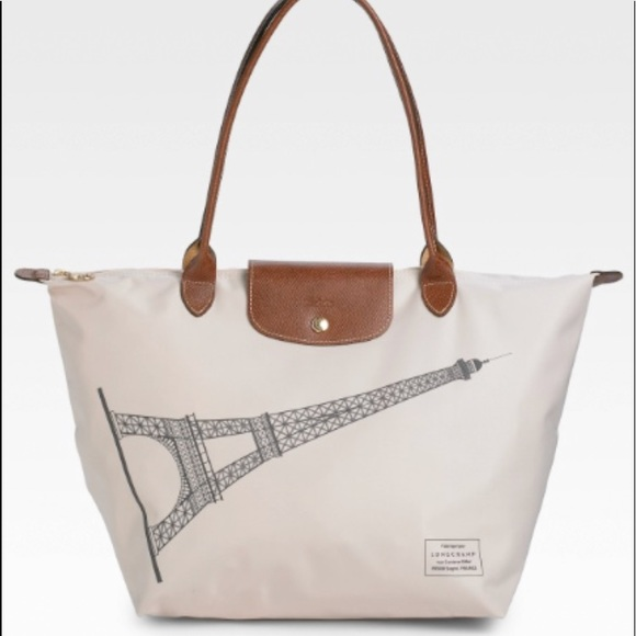 a6ae3b5d4438 Longchamp Handbags - Longchamp Eiffel Tower Le Pliage Tote